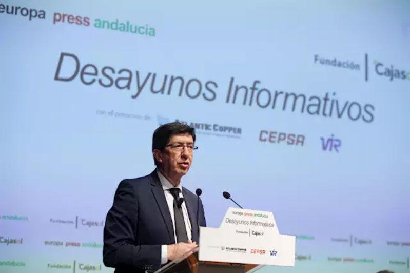 Marín plantea la reducción de plazos en la Ciudad de la Justicia de Sevilla por la colaboración público privada